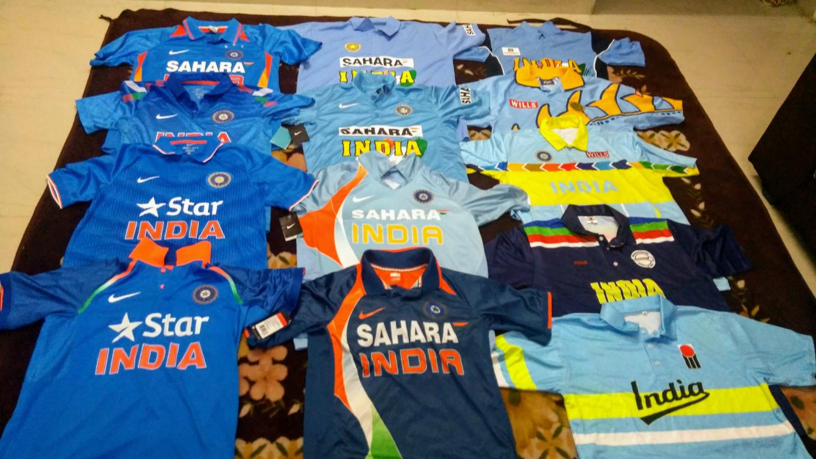 Your Cricket Jersey Collection Cricket Talk Indian